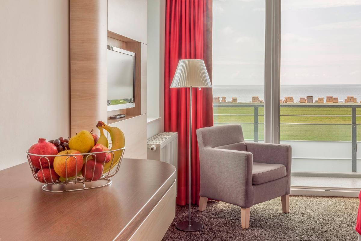 hotel an der nordsee mit meerblick hotel schelf. Black Bedroom Furniture Sets. Home Design Ideas